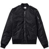 Saint Laurent Classic Ma 1 Jacket Black