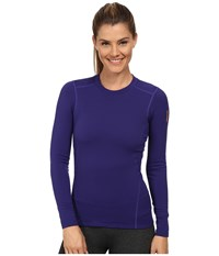 Arc'teryx Phase Sv Crew L S Azulene Women's Long Sleeve Pullover Blue