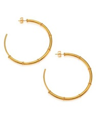 A Peace Treaty Turka Asymmetrical Hoop Earrings 1.95 Gold