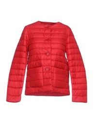 Aspesi Synthetic Down Jackets Brick Red
