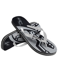 Forever Collectibles San Antonio Spurs Thong Sandals