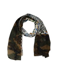 I'm Isola Marras Accessories Oblong Scarves Women Military Green