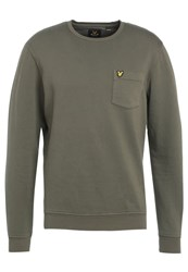 Lyle And Scott Sweatshirt Dusty Olive