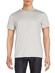 Saks Fifth Avenue Cotton Tee Grey