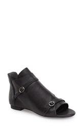 Max Studio 'Vino' Peep Toe Bootie Women Black