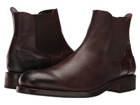 Wolverine 1000 Mile Montague Chelsea Boot Dark Brown Leather Men's Pull On Boots