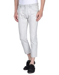 Ring Denim Denim Capris Men Light Grey