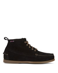 Sebago Black Suede Beacon Shearling Boots