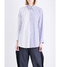 Limi Feu Oversized Cotton Poplin Shirt White