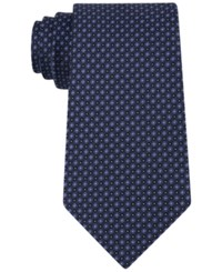 Kenneth Cole Reaction Men's Micro Grid Tie Navy