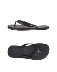 Paul Smith Thong Sandals Black