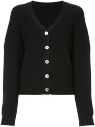Cityshop V Neck Cardigan Black