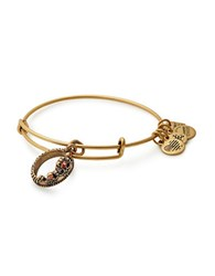Alex And Ani Path Of Symbols Swarovski Crystal Queens Crown Charm Bangle Gold
