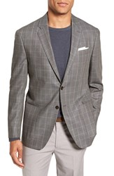 Todd Snyder Men's White Label Trim Fit Plaid Silk And Wool Sport Coat