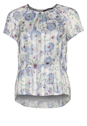 Kookai Blouse Blue White