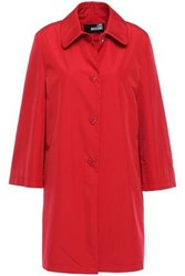 Love Moschino Woman Mid Coat Red