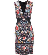 Roberto Cavalli Printed Sleeveless Dress Multicoloured