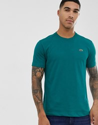 Lacoste Sport Logo T Shirt In Green