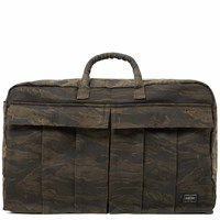 Porter Yoshida And Co. Tiger Camo Boston Bag