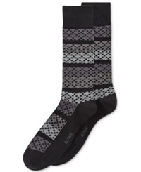 Alfani Men's Dotted Stripe Socks Only At Macy's Tonal