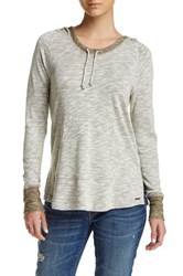 Roxy Weekend Escape Hooded Pullover Brown
