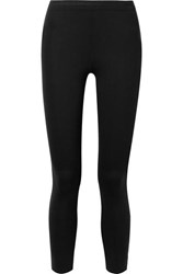 James Perse Stretch Scuba Leggings Black