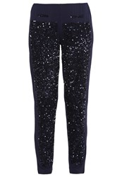 Patrizia Pepe Leggings Navy Dark Blue