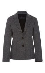 Derek Lam Two Button Blazer Dark Grey