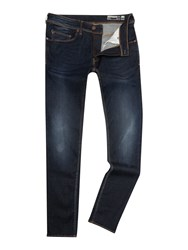 Duck And Cover Rannu Skinny Jeans Blue