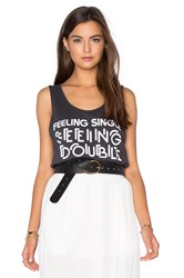 Bandit Brand Feelin Single Rad Long Tank Black