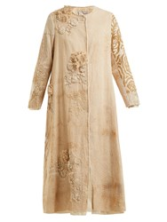 By Walid Tari 19Th Century Crochet Cotton Coat Beige