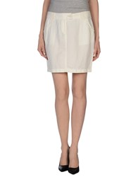 Guess By Marciano Skirts Mini Skirts Women Ivory