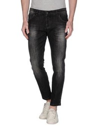 Entre Amis Men Denim Pants Black