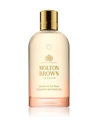 Molton Brown Jasmine And Sun Rose Exquisite Bathing Oil 6.6 Oz. 200 Ml