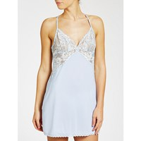 John Lewis Collection By Scarlett Chemise Soft Blue