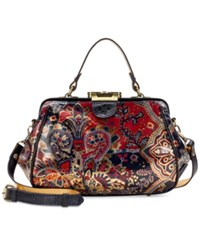 Patricia Nash Provencal Escape Gracchi Satchel Provencal Escape Gold