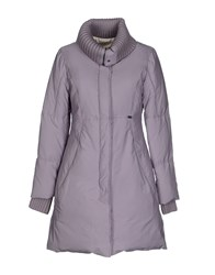 Ice Iceberg Coats And Jackets Down Jackets Women Lilac