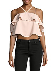 Beach Lunch Lounge Serendipity Cold Shoulder Top Cream