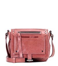 Mcq By Alexander Mcqueen Loveless Leather Shoulder Bag Pink