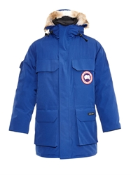 Canada Goose Expedition Fur Trimmed Down Parka