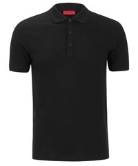 Hugo Men's Nono Plain Polo Shirt Black