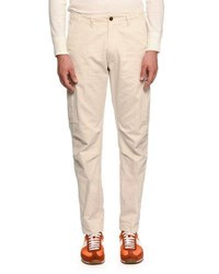 Tom Ford Cargo Pants W Oversized Pockets Off White