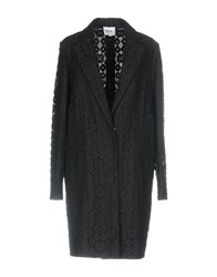 Moschino Cheap And Chic Overcoats Black