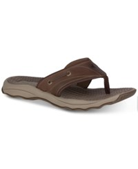 Sperry Men's Outerbanks Thong Sandals Men's Shoes Brown