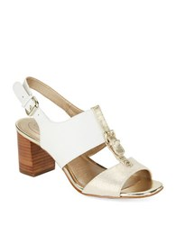 Circa Joan And David Kalista Sandals White