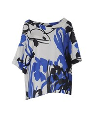 Attic And Barn Blouses Blue