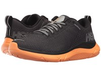 Hoka One One Hupana 2 Black Orange Pop Running Shoes