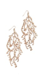Adia Kibur Christina Earrings Gold