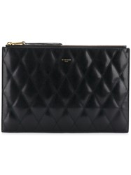 Givenchy Quilted Clutch Bag Black