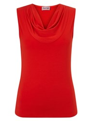Phase Eight Carrie Sleeveless Top Red